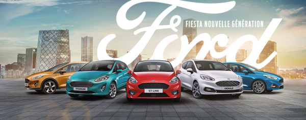 Nouvelle ford fiesta arrive dans vos concessions ford for Garage ford perpignan nord